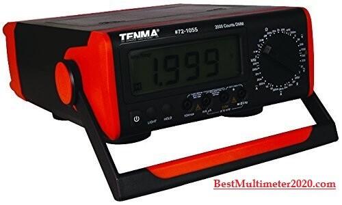 best multimeter,Tenma 72-1055 Benchtop Digital Multimeter