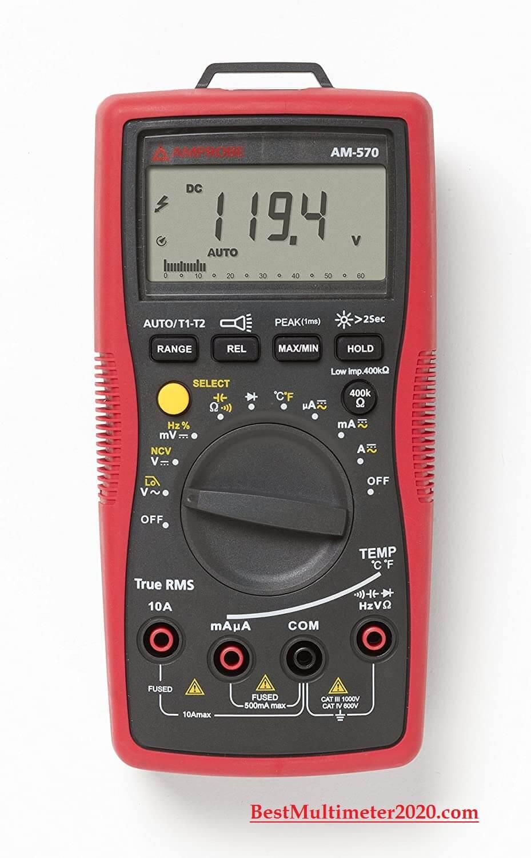best digital multimeter 2021, Amprobe AM-570 Industrial Digital Multimeter