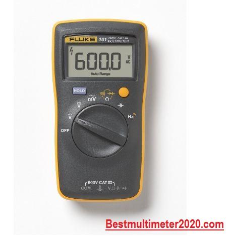 Best Multimeter for electricians 2020 reviews,FLUKE-101 Digital Multimeter (Sturdy design)