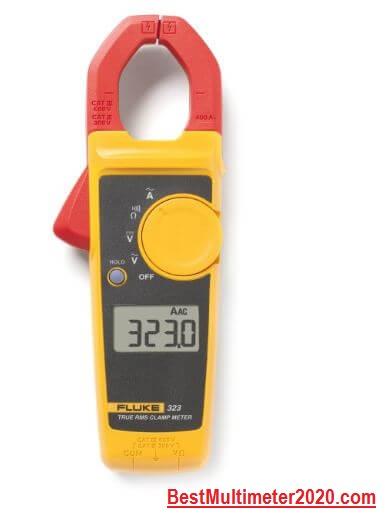 Fluke 323 True-RMS Clamp Meter (Small size), best fluke multimeter, best multimeter 2020