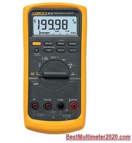 Fluke 87-V Digital Multimeter (Best design), best fluke multimeter, best multimeter 2020