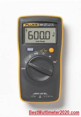 FLUKE-101 Digital Multimeter (Good battery Life), best fluke multimeter, best multimeter 2020