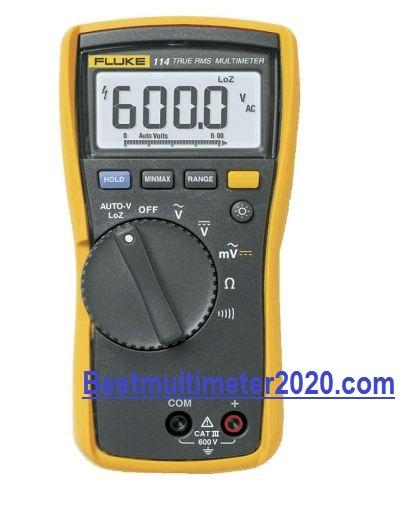 Best Multimeter for electricians 2020 reviews,Fluke 114 Digital Multimeter with TRMS for electricians