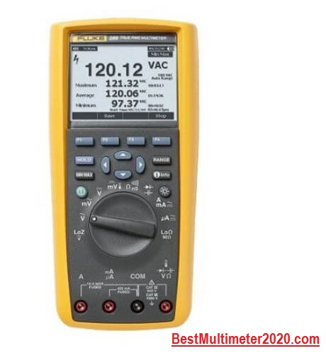 Fluke 289 True-RMS Logging Multimeter –You ever need for electronics problems, best fluke multimeter 2020, best multimeter 2020