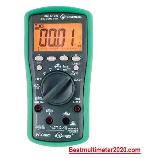 Best Multi-meter for electricians 2020 reviews,Greenlee DM-510A Multimeter with High LCD
