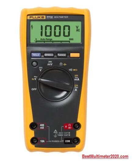 Fluke 77-IV Automotive Digital Multimeter (good overall), best fluke multimeter, best multimeter 2020