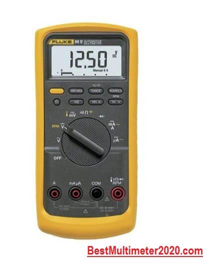 best multimeter 2020,Fluke 88V 1000V Automotive Multimeter