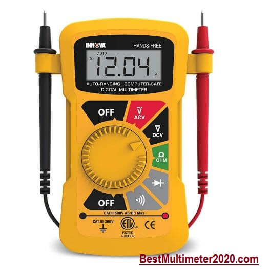 best multimeter 2020, INNOVA 3300 Hands-free Digital Multimeter