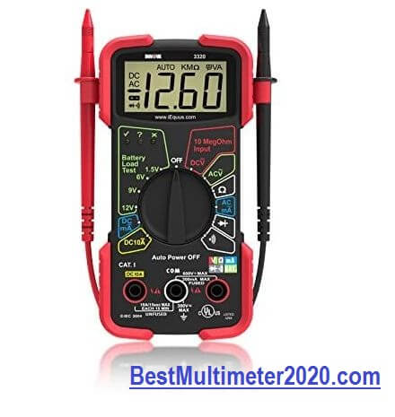 Best multimeter 2020, INNOVA 3320 Auto-Ranging Digital Multimeter