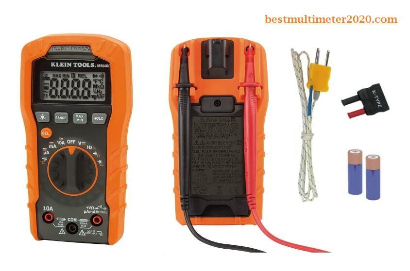 Klein Tools MM400 Multimeter, best budget multimeter, best multimeter for the money, best budget digital multimeter, best multimeter 2020