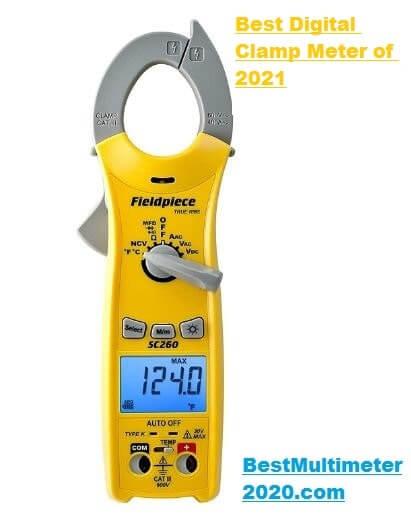 Field-piece clamp meter, best clamp meter 2020, best clamp meter 2021, best clamp digital meter of 2021