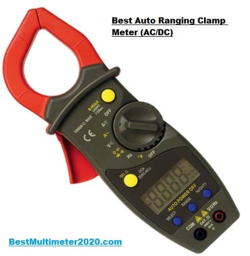 Auto ranging AC/DC Digital Clamp Meter, best digital clamp meter 2021, best clamp meter 2020, best budget clamp meter for hvac